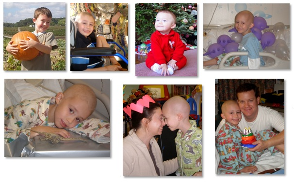 Mattie Miracle Cancer Foundation photo collage